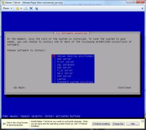 Building a Lamp box using debian linux